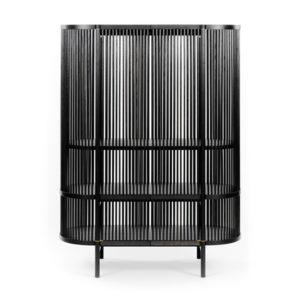 Bastone cabinet black 300x300 - Poiat - Bastone